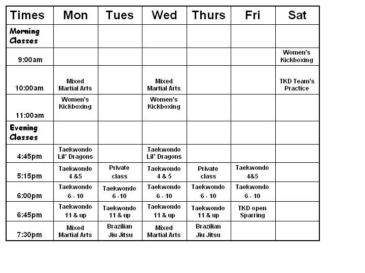 schedule-port-richey-2010