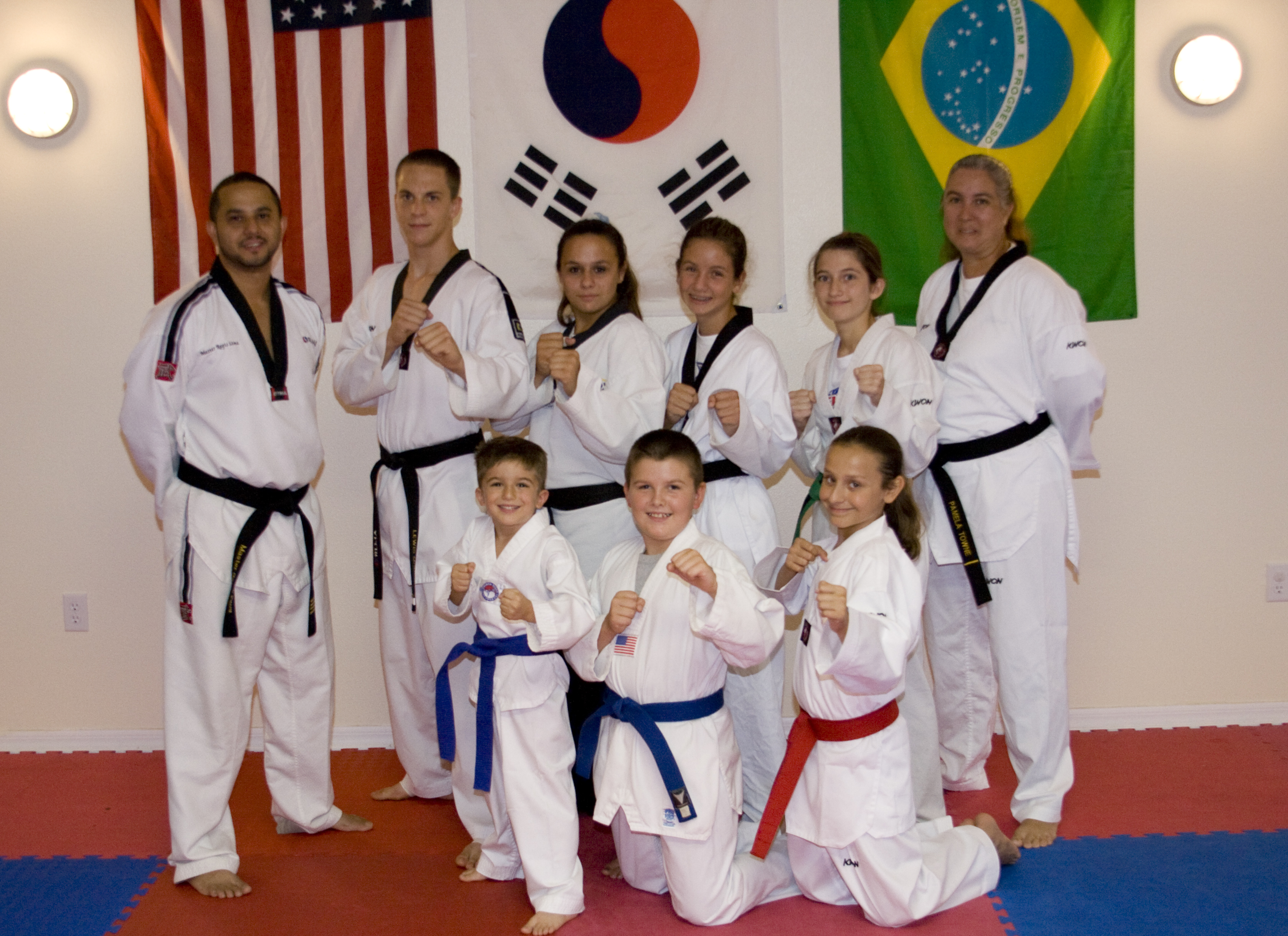 Team Members that compeated in the 2000  TKD Nationals