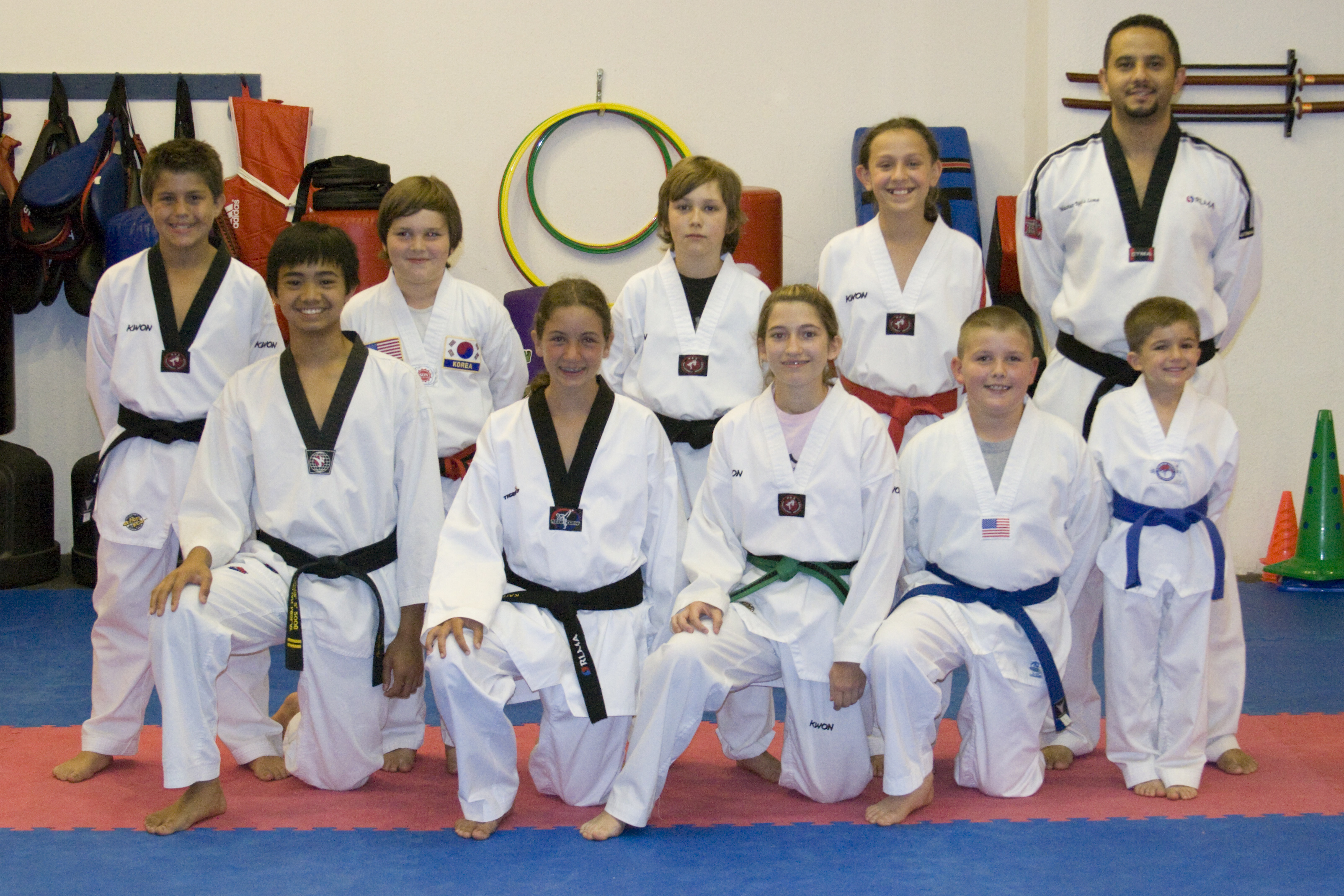 Team Members that compeated in the 2009 RLMA Scrimmage